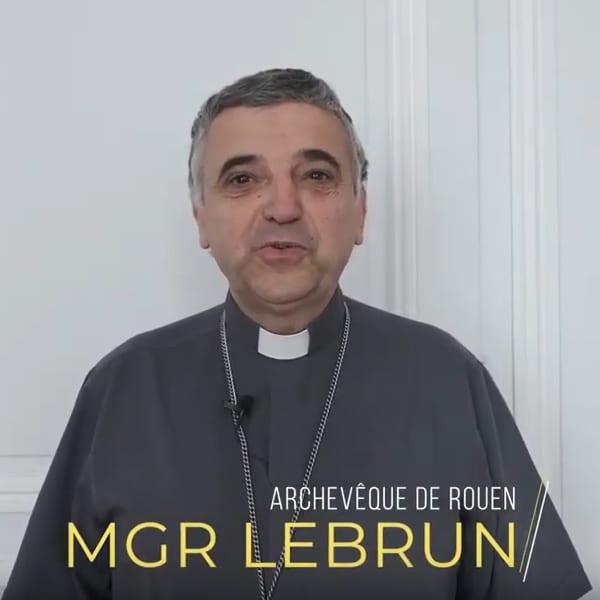 Monseigneur Dominique Lebrun nous présente l'Institut Normand de Sciences Religieuses