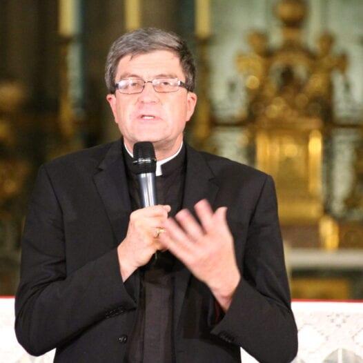 Leçon de théologie inaugurale à l'INSR par Mgr Eric de Moulins-Beaufort